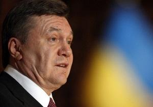 Янукович рассказал, чего ожидает от расширения своих полномочий