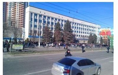 В Луганске прошел пророссийский митинг