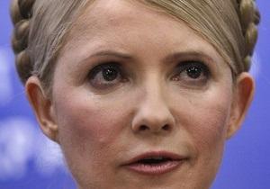 Тимошенко связывает отключение регионов от теплоснабжения с возвратом долгов RosUkrEnergo