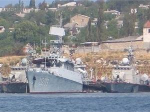 Россияне затопили еще одно судно в бухте Донузлав
