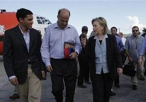 Клинтон: США не оставит Гаити без помощи (обновлено)
