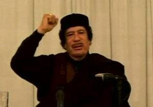Каддафи вновь заявил о скором конце НАТО и повстанцев
