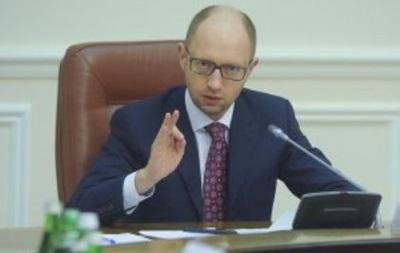 Яценюк 25 марта проведет заседание правительства