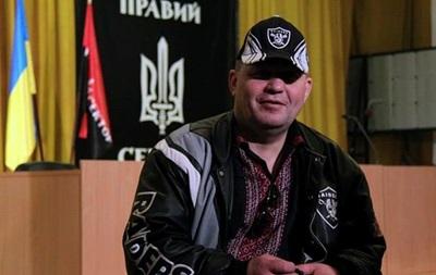 Сашко Билый сам себя подстрелил во время задержания - МВД