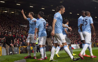 Игра в одни ворота: Манчестер Сити уничтожает  красных дьяволов