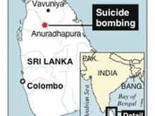 Жертвами очередного теракта в Шри-Ланке стали 22 человека