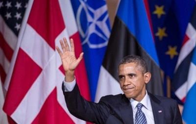 События в Украине ударили по рейтингу Обамы