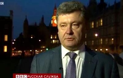 Петр Порошенко о выборах президента Украины