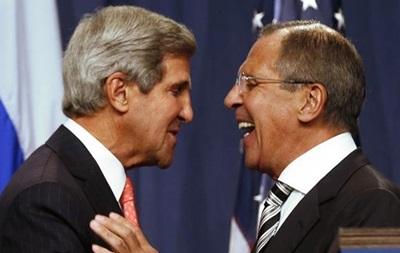 Керри и Лавров встретятся в воскресенье, чтобы обсудить кризис в Украине