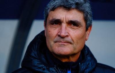 Тренер Днепра: На таком поле невозможно играть в футбол