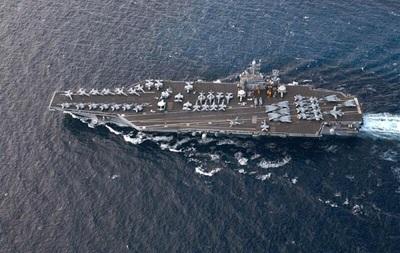 Американский ядерный авианосец вошел в восточное Средиземноморье