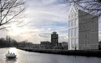 В Нидерландах на 3D-принтере печатают жилой дом