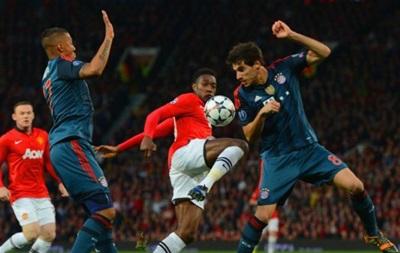 Манчестер Юнайтед и Бавария сыграли вничью в первом матче 1\4 финала Лиги Чемпионов