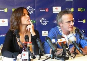 В Киеве на пресс-конференции Молодости Софи Марсо перепутали с Софи Лорен