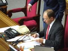 Яценюк не будет подписывать ветированные Ющенко законы