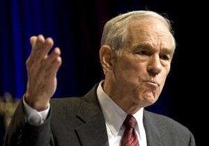 Республиканец Пол назвал себя единственным кандидатом в президенты США, признающим право Израиля бомбить Иран