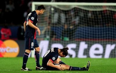 Ибрагимович не поможет ПСЖ в ответном матче Лиги чемпионов с Челси