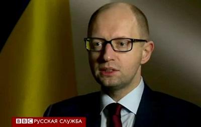 Украина способна дать военный отпор - Яценюк