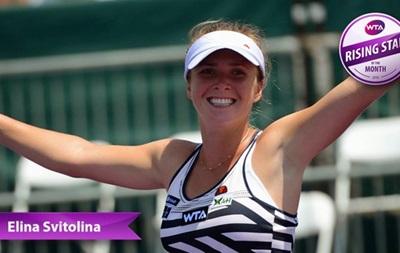 Украинская теннисистка признана восходящей звездой месяца