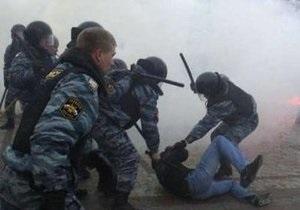 В ГУВД Москвы рассказали о сегодняшней акции на Манежной
