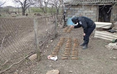 В Новобогдановке Служба безопасности задержала  оружейного барона