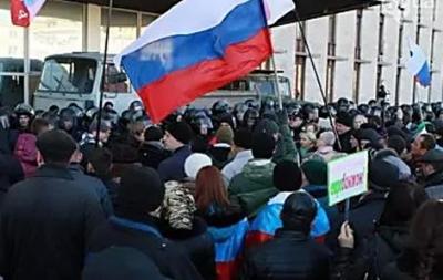 В Луганске пророссийские активисты захватили филиал Нацбанка – СМИ