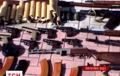 Видеорепортаж о диверсионной группе, задержанной в Луганске СБУ
