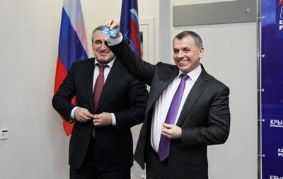 Константинов возглавил Единую Россию в Крыму