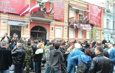 Правоохранители освободили захваченный в феврале киевский офис КПУ