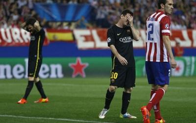 Шок для Месси: Атлетико выбивает Барселону из Лиги чемпионов