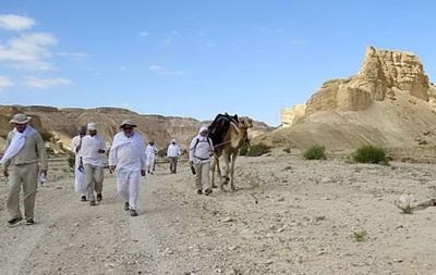 Российские олигархи в преддверии Песаха пройдут по пустыне Израиля