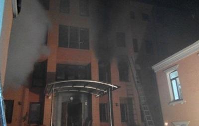 В офисе КПУ выгорело 220 квадратных метров