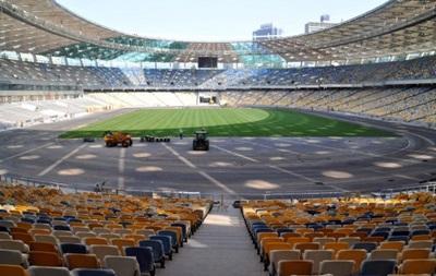 НСК Олимпийский окрасится в клубные цвета Динамо и Шахтера