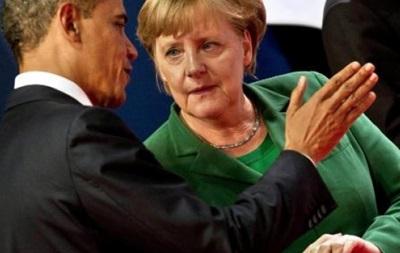 Обама призвал Меркель готовиться к введению новых санкций в отношении РФ