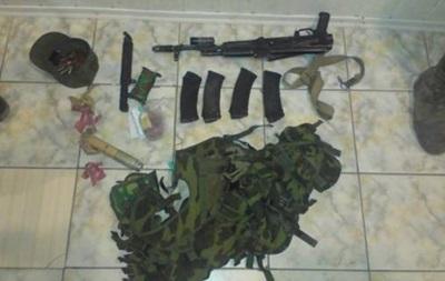 СБУ задержала пьяного российского военного с оружием