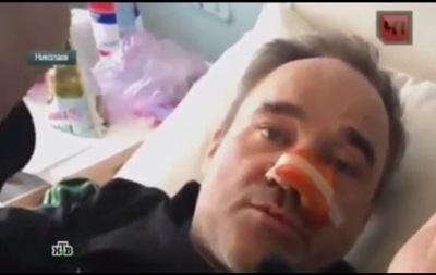 Телеканалы НТВ и Россия не поделили  раненого