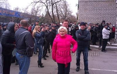 Мэр Славянска о захватчиках горотдела милиции: Это наши донбасские ребята