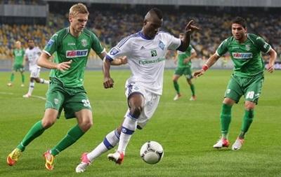 Динамо теряет очки в матче с Карпатами