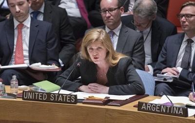 США обвинили Россию в режиссуре событий на востоке Украины