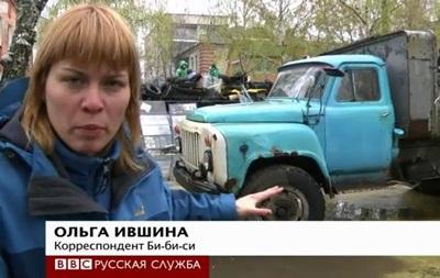 Славянск отказывается подчиниться Киеву - BBC