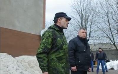 Часть милиции в Горловке перешла под командование подполковника российской армии