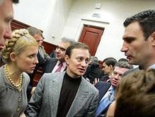 НУ призывает БЮТ и Блок Кличко выдвинуть единого кандидата в мэры Киева