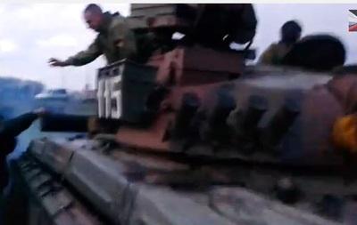Около Славянска самооборона остановила танк