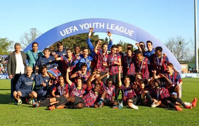 Барселона выиграла Юношескую лигу UEFA