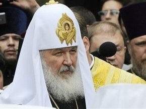 В Свято-Троицком монастыре в  Корце патриарх Кирилл молился о преодолении разделений
