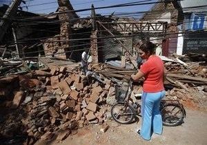 Землетрясение в Чили: число жертв превысило 300 человек