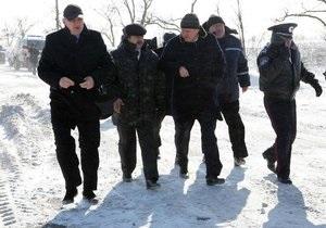Могилев заявил, что ситуация в Крыму под контролем, и уехал проверять, как убирают снежные заносы