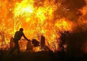 В Полтавской и Житомирской областях не могут потушить торфяные пожары