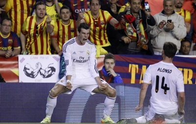 Самый дорогой игрок мира приносит Реалу победу над Барселоной и Кубок Испании