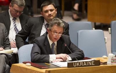 Постпред Украины в ООН  призвал Россию не вмешиваться во внутренние дела страны